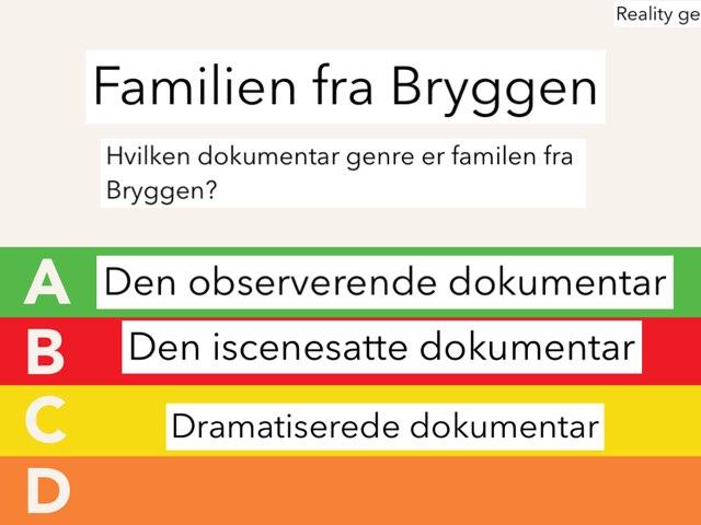 quiz for familien