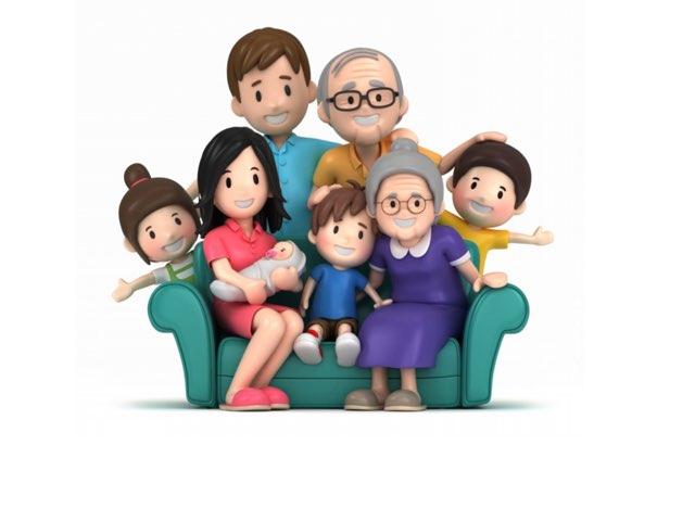 Family Members In Chinese by Belinda Wu