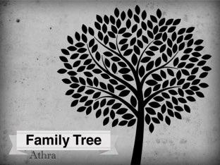 Family Tree  by Athra Qadeeb