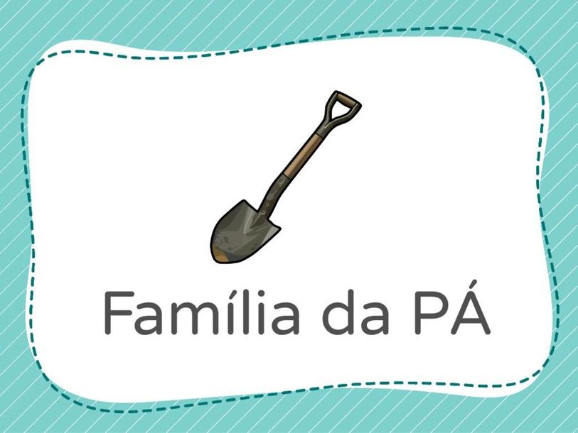 Família da pá by Mariana Facchini