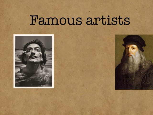 Famous Artists by Jesús Gomez