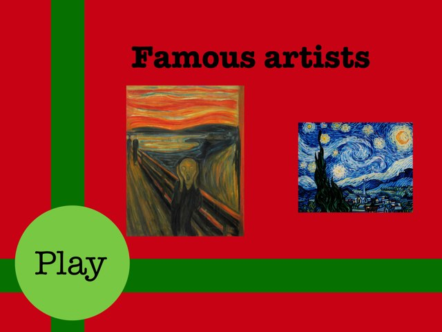 Famous Artists by Mica Ela