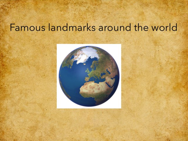 Famous Land Marks by Sandford Hill