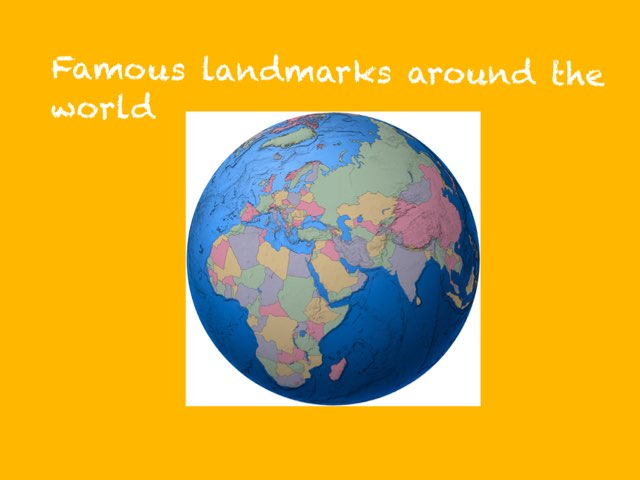 Famous Landmarks Quiz  by Sandford Hill
