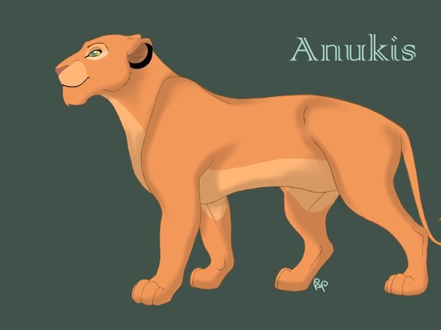 Fanmade Lion King Characters by M2 Taylor