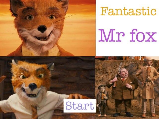 Fantastic Mr Fox by Krystal Wiggins