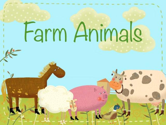 Farm Animal Vocabulary by Erica Lynn