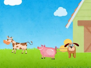Farm Animals  by Brittany Schave