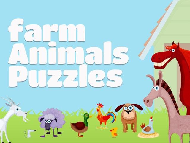 Farm Animals Puzzles by Tiny Tap