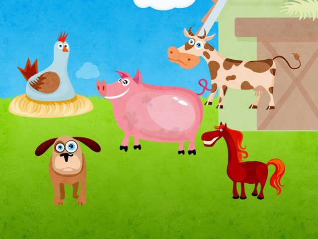 Farm animals by Amy Storer
