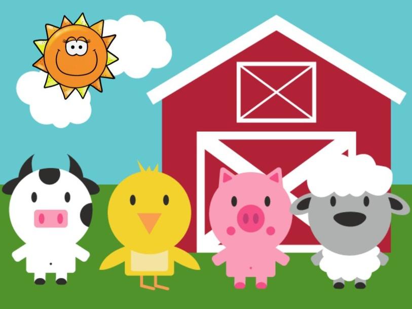 Farm Animals 2 by Agustina Suarez