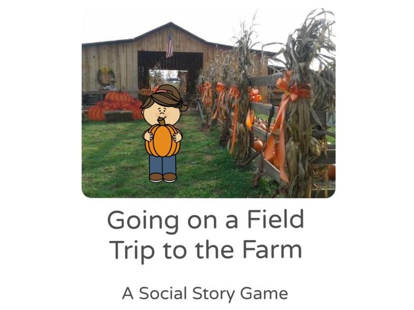 Farm Social Story Game by Amanda Prater