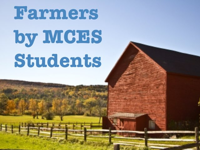Farmers by MCES by Christine Snow