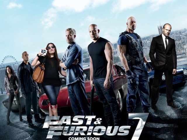 Fast 7 by mcpake family