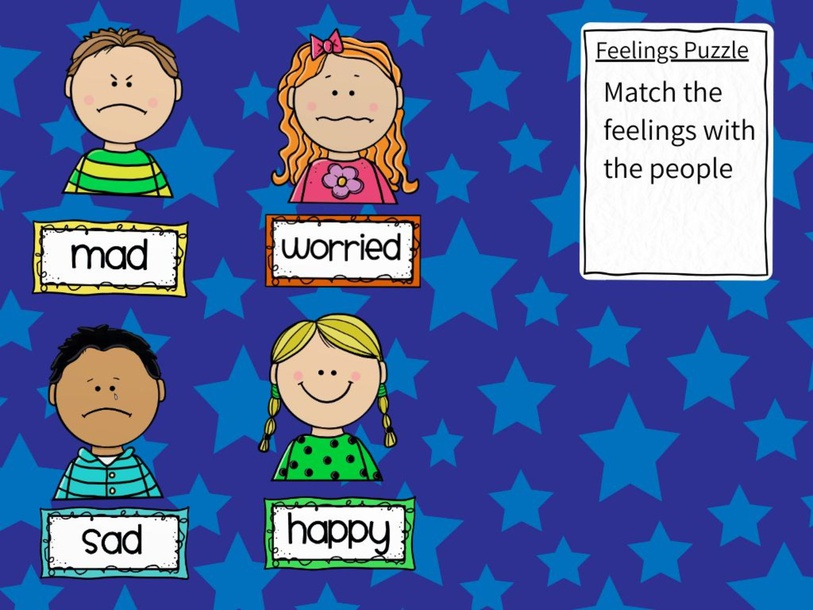 Feelings Puzzle by Lindsey Becker