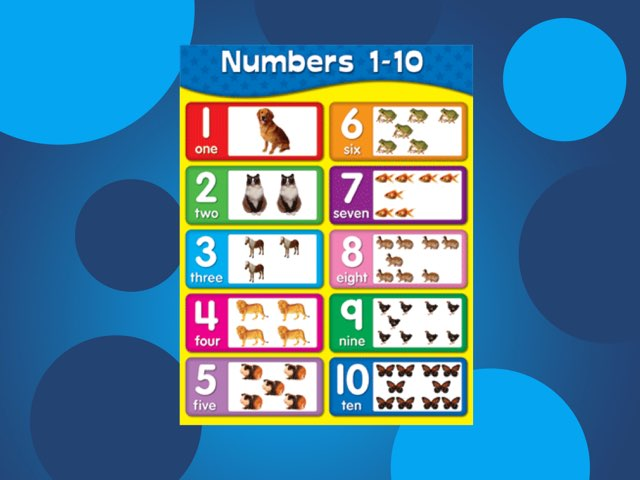 Fernvale Number Chart  by Rebecca Johnson
