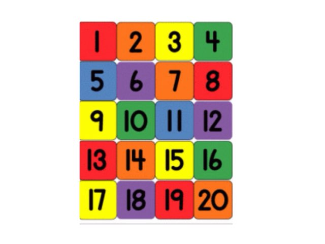 Fernvale Teen Numbers Puzzle by Rebecca Johnson