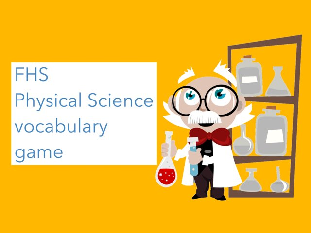 Fhs Science Vocabulary  by Rebecca Wolfe