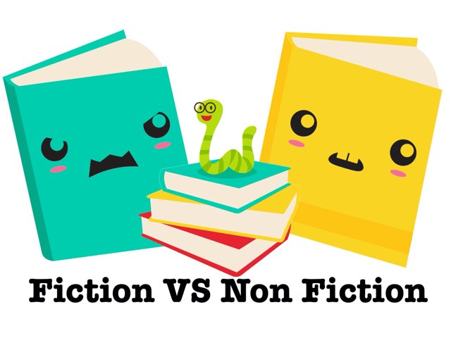 Fiction VS Non Fiction by nope nope