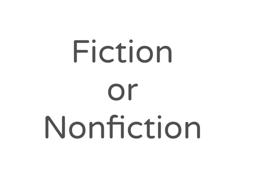 Fiction or Nonfiction Game by Katherine Sowders