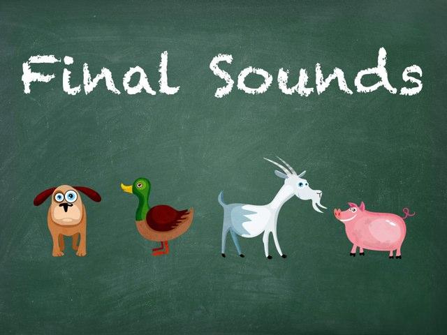 Final Sounds In Sentences by Karen Souter