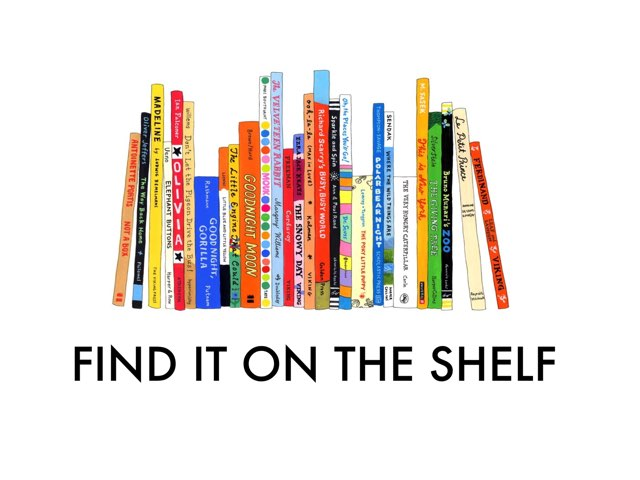 Find It On The Shelf  by TSD Library