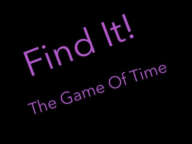 Find It by Aneesa Muhammad