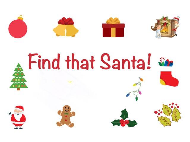 Find That Santa! by Gabby Kline