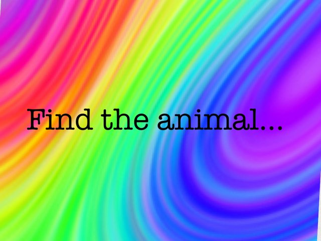 Find The Animal by Dss Student