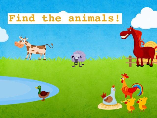 Find The Animals by Escola lápis de cor