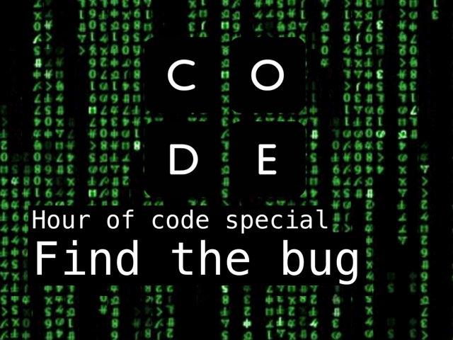 Find The Bug by Pop Quiz