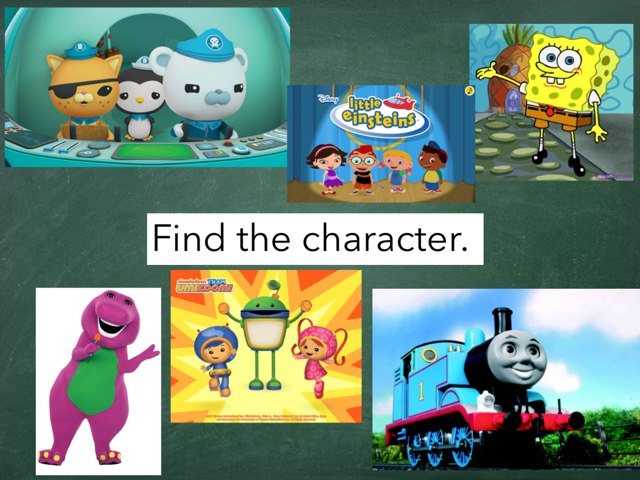 Find The Characters! by Julie Gittoes-Henry