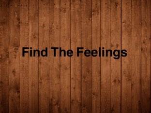 Find The Feelings  by Caitlin Sullivan