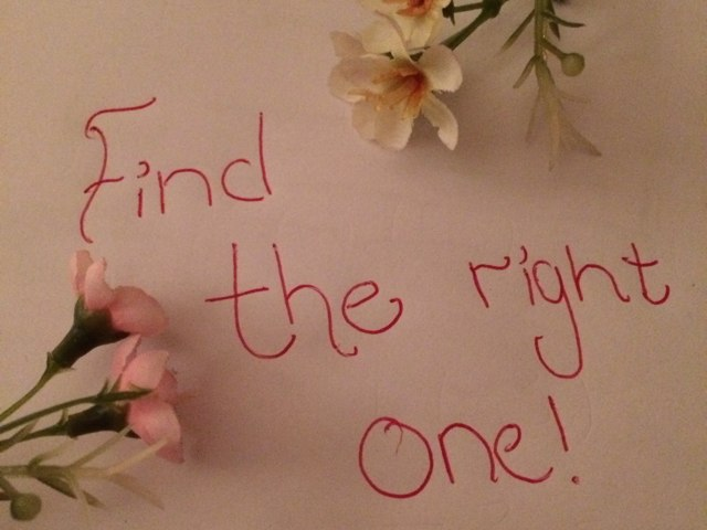 Find The Right One by Alice Evergreen