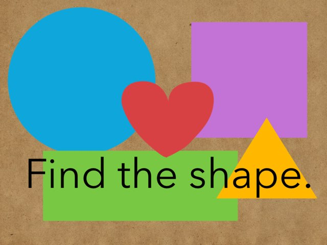 Find The Shape by Angela Broussard