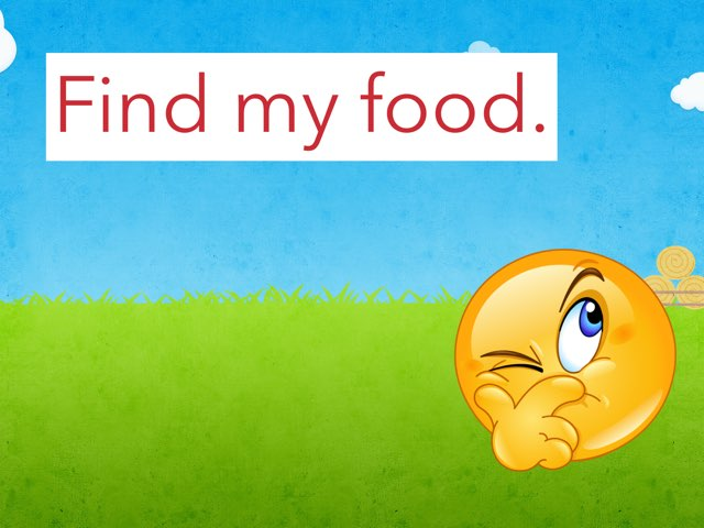 Find my food by Sara Shmed