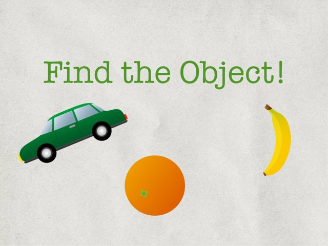 Find the Object! by Nikki Samuel