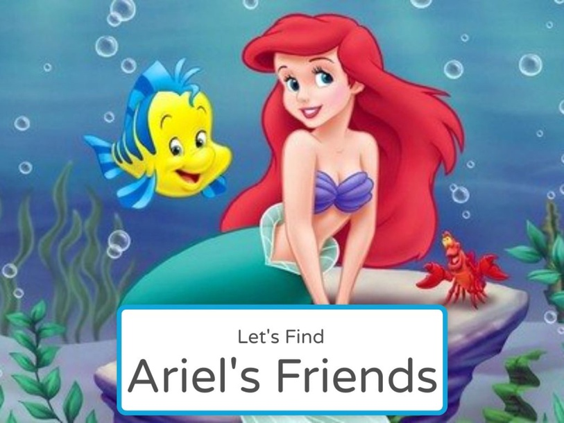Find Ariel's Friends by Angela Oo