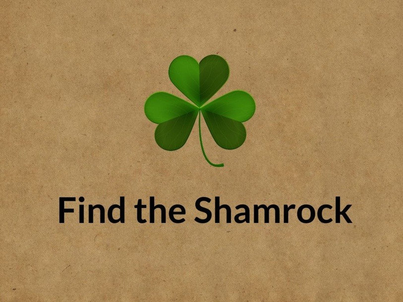 Find the Shamrock by Taylor Gonzales