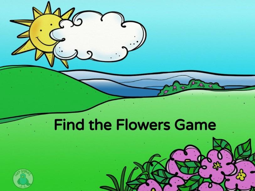 Find the flowers by Allison Biglin