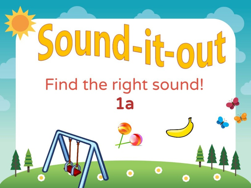 Find the right initial sound: b,c,m,l,s by Joanne Arrowsmith
