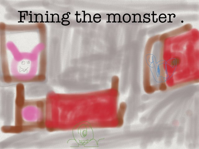 Fining The Monsters by Anny Luz