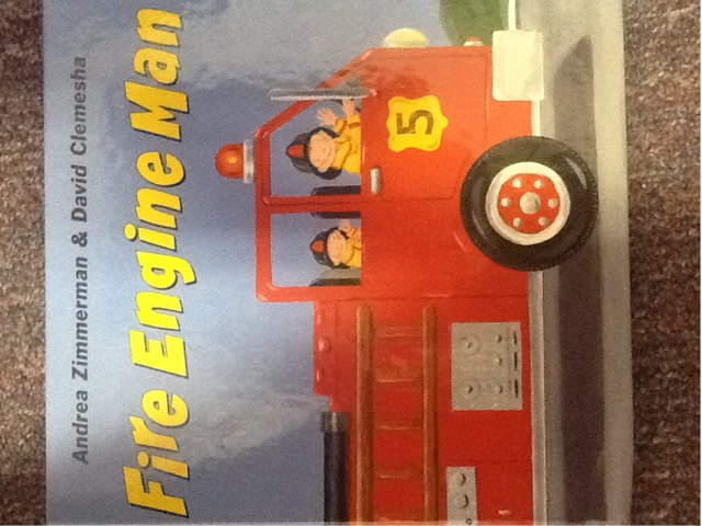 Fire Engine Man Interactive Story by Wendy Hazelwonder