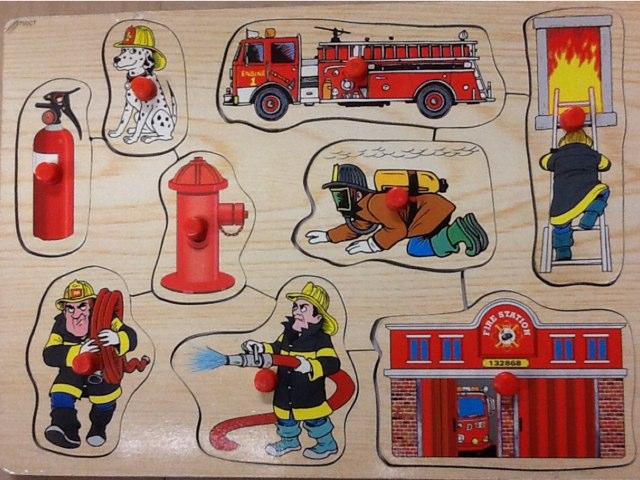 Fire Vocabulary by Rebecca Caplan