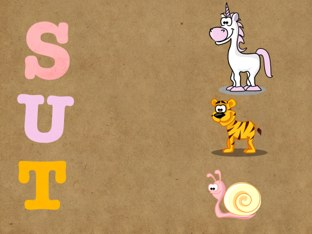 First Animals Letters by Yogev Shelly