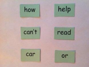First Grade Sight Words 1.3 by Laura Merritt