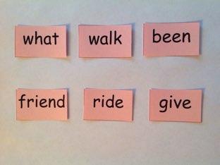 First Grade Sight Words 1.4 by Laura Merritt