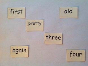 First Grade Sight Words 1.6 by Laura Merritt