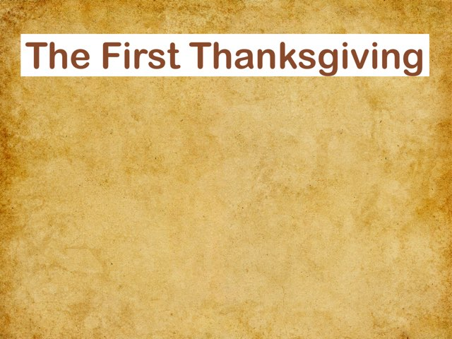 First Thanksgiving by Hope Kennedy
