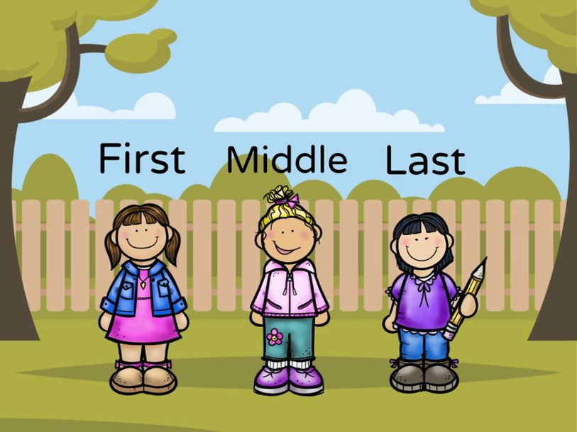 First, Middle, Last by Natalie Carr
